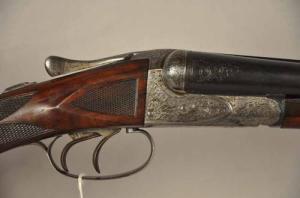 A.H. Fox 20g CE grade double barrel shotgun