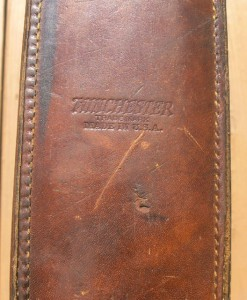 Winchester Leather Gun Case