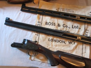 Boss & Co. Over & Under Double Rifle