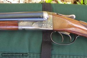 A.H. Fox Sterlingworth double-barrel shotgun