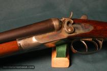 L.C. Smith F-grade 12 gauge hammer shotgun