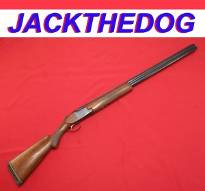 12g Browning Superposed, Pre-War, Double Barrel Shotgun