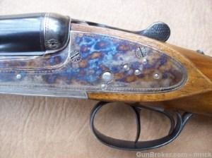 20 gauge Orvis Upland side-by-side double barrel shotgun