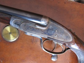 A .303 side-by-side double rifle by James Purdey & Sons