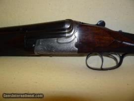 Charles Lancaster 16 gauge O/U double barrel shotgun