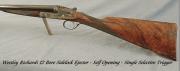 1964 12 gauge Westley Richards side-by-side shotgun