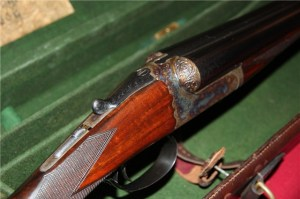 12 gauge Westley Richards Droplock Double Barrel Shotgun