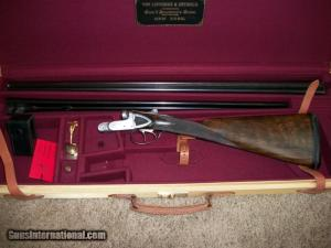 ".410 Auguste Francotte Side-by-Side shotgun, 30"" Barrels"
