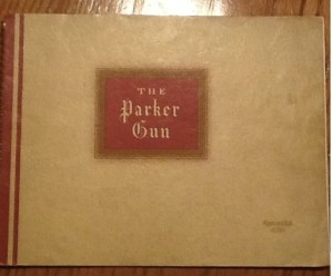 1937 Parker Double Barrel Shotgun Catalog