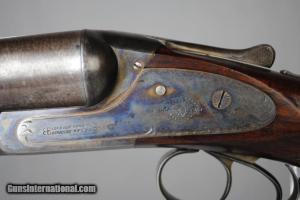 10 gauge Lefever Double Barrels Side by Side Shotgun