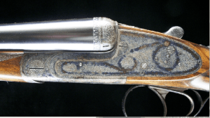 12 gauge Dumoulin Sidelock Double Barrel Side by Side Shotgun