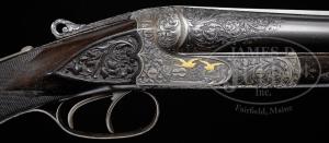 12 gauge J.P. Sauer Deluxe Grade Side-by-Side Double Barrel Shotgun