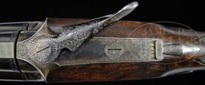 16 gauge James Woodward Patent Under & Over Double Barrel O/U Shotgun