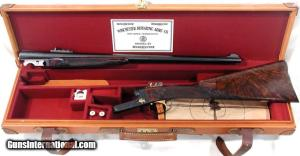 EXCEPTIONALLY FINE WINCHESTER MODEL 21 DOUBLE RIFLE: Caliber 45-70.