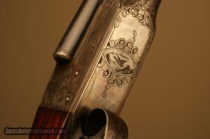 20 gauge Ithaca Flues Grade 3 Double Barrel Side-by-Side shotgun