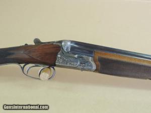 28 gauge Gebruder Adamy Diamond-grade Double-barrel Over-Under shotgun