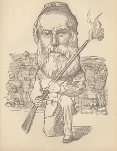Charles Ingram, gunmaker, rifle shooter. Courtesy, Mitchell Library, The Bailie, Scotland