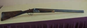 28 gauge Gebruder Adamy Diamond-grade Double-barrel Over-Under shotgun