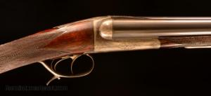 12 gauge Manufrance Ideal. Grade 3. Double Barrel Shotgun