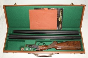 Parker Reproductions Parker DHE 28 Ga 2-barrel Set, on Gunbroker.com now