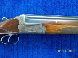 16 gauge Merkel Over Under Shotgun on Gunbroker.com