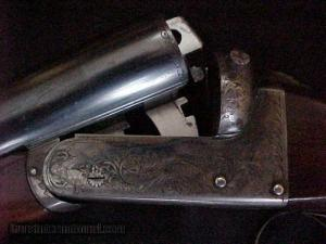 12 gauge John Harper Boxlock Double Barrel Shotgun