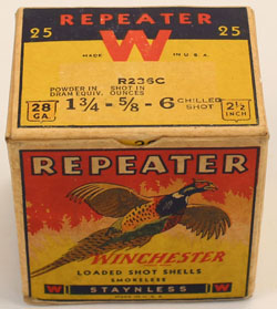 Winchester, PHEASANT BOX, REPEATER, 28 GAUGE