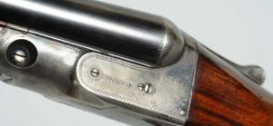 """Parker VH 12 GA SxS Shotgun. 32"""" bbls."""
