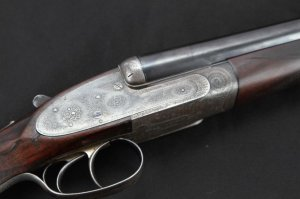 16 gauge James Purdey & Sons Double Barrel Side-by-Side Shotgun