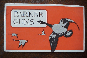PARKER GUN ORIGINAL 1930 SALES CATALOG, click for listing