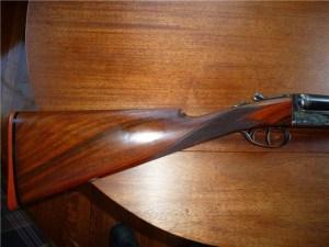 12 gauge Webley & Scott Model 700 double barrel shotgun on Gunbroker.com