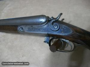 """Parker D-grade Lifter Double Barrel Shotgun, 10GA, 32"""" bbls"""