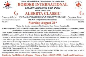 The Border International 2013 Horseback Field Trial