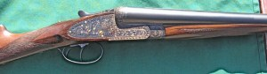 12 gauge Arrieta Double Barrel Sidelock Shotgun