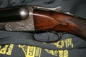 16 gauge Parker Bros DHE Double Barrel SxS Shotgun
