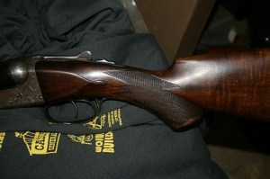 16 gauge Parker Bros DHE Double Barrel SxS Shotgun