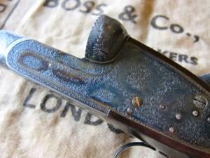 12 gauge Boss Side-by-Side Double Barrel Pigeon Gun
