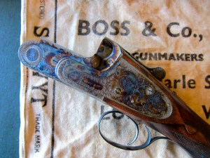 12 gauge Boss O/U Double Barrel Pigeon Shotgun