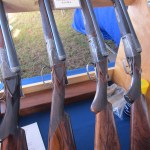 A group of Fox shotguns from the Fox Collector's table