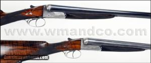 Pair of Mode of Paris Double Barrel, SxS12 Gauge Ejectors