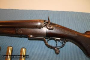 8 Bore R.B. Rhodda double rifle