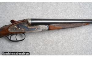20 gauge BC My Luck Model F Sidelock Double Barrel Shotgun
