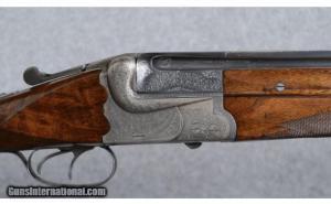 Miller Val. Greiss O/U German Game Gun 12 Gauge