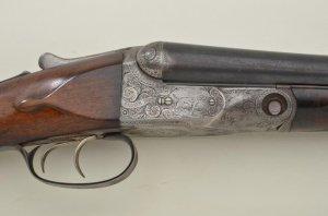 """Parker Bros. DHE SxS hammerless shotgun, 16 gauge, 32"""" barrels"""