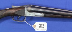 A. H. Fox C Grade Side-by-Side Shotgun, 12 g