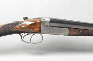 WILLIAM EVANS 16 GAUGE SIDE X SIDE SHOTGUN