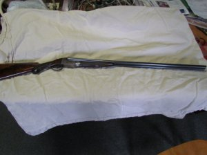 Ithaca Flues Grade 3E 20 gauge Double Barrel Shotgun