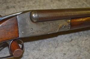 "Lot 55: Ithaca Mod. Grade 2 20ga. Double Barrel Shotgun w/26"" Damascus Barrels"