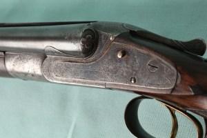 20 gauge Lefever BE double barrel sxs shotgun