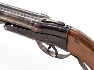 Lot 441: A Vintage AH Fox Gun Co. Toy Double Barrel Shotgun